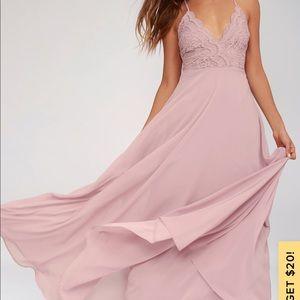 Lulus bridesmaid dress!